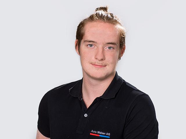 Andreas Bernegger : 1. Lehrjahr Automobil-Fachmann