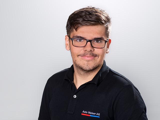 Samuel Lalic : 1. Lehrjahr Automobil-Assistent