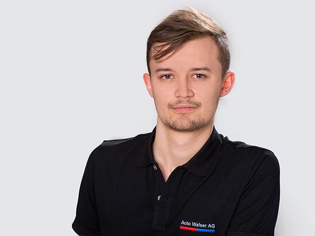 Oscar Fässler : 2. Lehrjahr Kaufmann